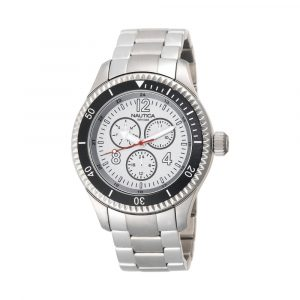 Nautica Reloj para Caballero Silver