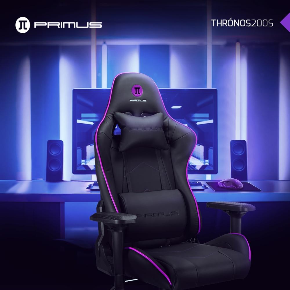 Primus Gaming Chair Thronos 200S Negro - Kemik Guatemala