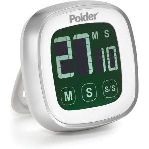 Polder Temporizador Digital con Pantalla Táctil