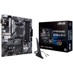 Tarjeta Madre Asus Prime B550M-A (WiFi) Micro ATX AM4 AMD