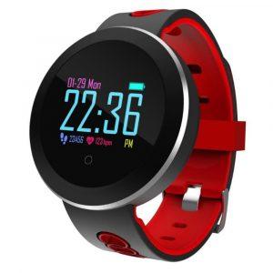 Reloj inteligente Q8 pro Max Negro con Rojo