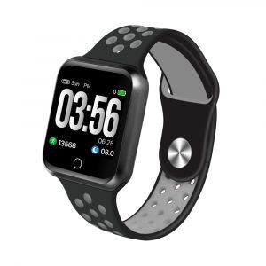 Reloj Inteligente Sportz Negro con Gris