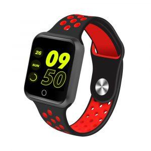 Reloj Inteligente Sportz Negro con Rojo