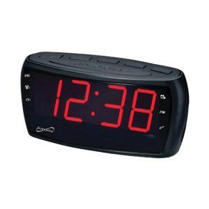 Radio Reloj Despertador Eléctrico Marca SuperSonic