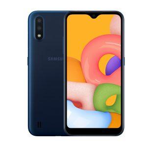 "Samsung Galaxy A01 2GB RAM + 16GB RAM 5.7"" Azul DualSIM Liberado"
