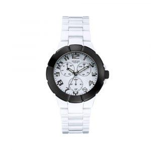 Guess U10070G5 Reloj para Caballero Blanco