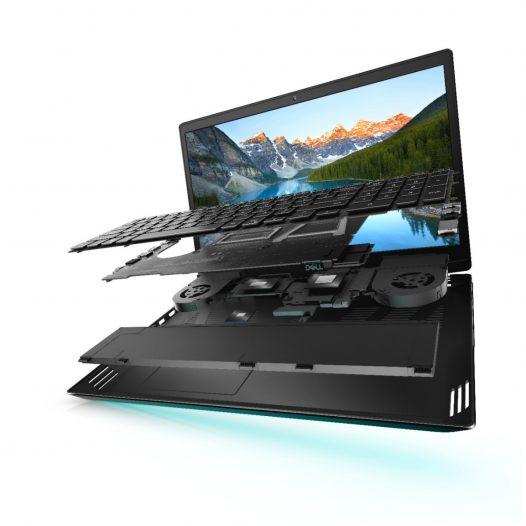 """Laptop Dell G5 SE 5505 Ryzen 7 4800H 16GB RAM + 512GB SSD + RX 5600M 6GB 15.6"""" Color Plata Win10 Home"""