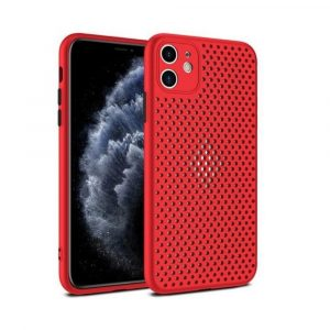 Case para iPhone 11 Antigolpes color Rojo