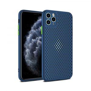 Case para iPhone 11 Pro Max Antigolpes color Azul