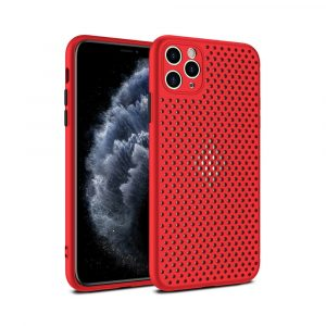 Case para iPhone 11 Pro Max Antigolpes color Roja
