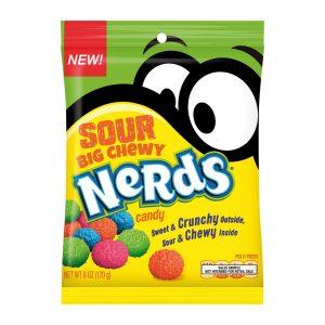 Wonka Nerds Chewy Sour Paquete de 12 Unidades de 6 oz