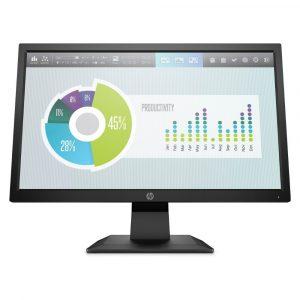 """HP P204v Monitor 19.5"""" VGA HDMI"""