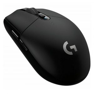 Logitech G305 Mouse Gaming Inalámbrico Negro