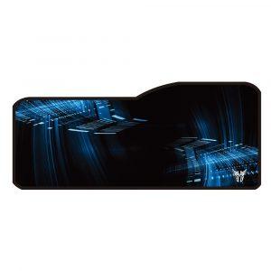 Mousepad Gaming Argom Azul con Negro