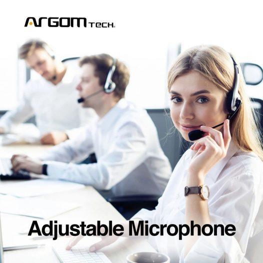 Argom Estereo 88 Audífonos Plug 3.5mm Negro
