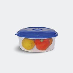 Comcepts Contenedor de Plástico con Tapa