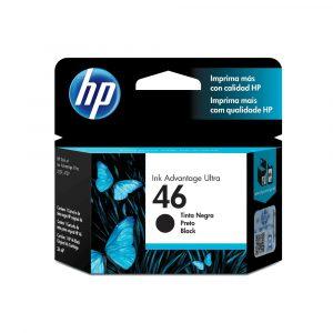 HP 46 Cartucho de Tinta Negra Original