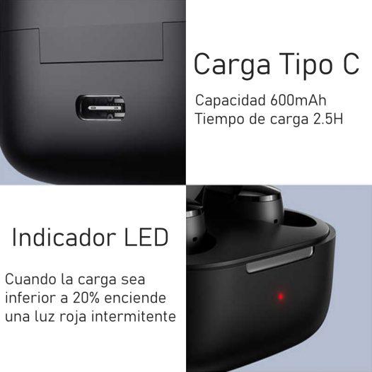 Xiaomi Mi True Wireless Earbuds Basic 2s Negro