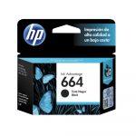 HP 664 Cartucho de Tinta Negra Original