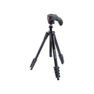 Manfrotto Trípode Compacto Acción Para Fotografia o Videocámara Compacta