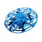 Dron Mini para Niños con Sensor de Mano Azul