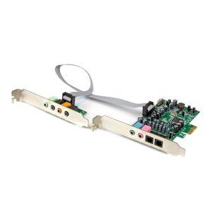 Tarjeta PCI Express de Sonido de 7.1 Canales StarTech.com
