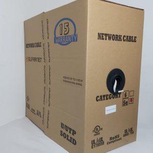 Supranet Bobina de Cable UTP Cat5e 305 metros para Interior Gris