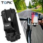Topk Soporte para Motocicleta/Bicicleta Silicona Ajustable