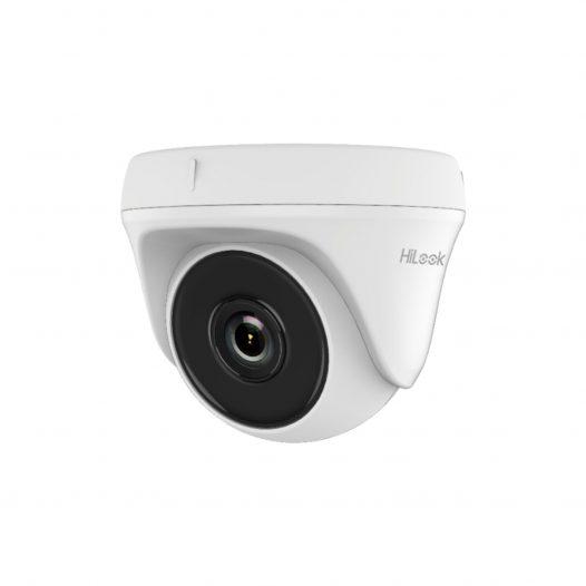 Cámara de Seguridad HiLook CCTV Mini Domo 720p Lente 2.8mm THC-T110-P