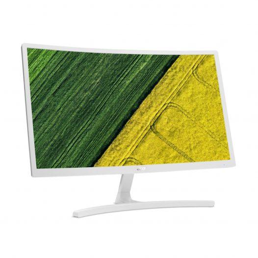 """Monitor Acer Curvo de 23.6"""" con Salida HDMI y VGA ED2"""
