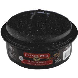 Granite Ware Olla de Recubrimiento en Vidrio
