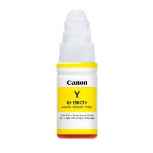 Canon Refil de Tinta Amarilla GI-190 Y