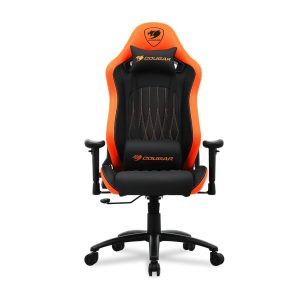 PREVENTA Cougar Silla gaming Explore Racing color naranja con negro