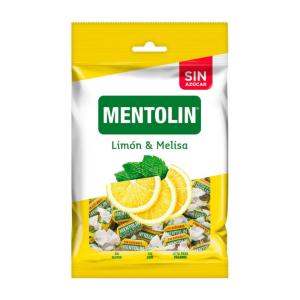 Mentolin Limón & Melisa  sin Azúcar 100gr