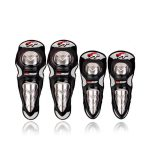 Set de Rodilleras y Coderas de Aluminio para Motociclista Pro X