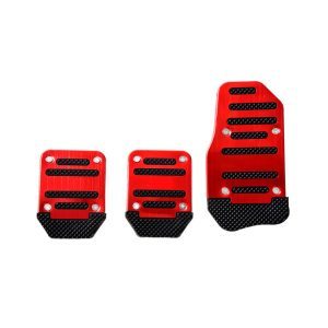 Adaptador de Pedal para Auto RacingTec Antideslizante Rojo