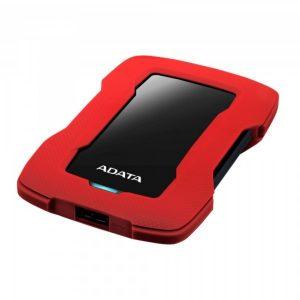 ADATA Disco Duro Externo HD330 1 TB 2.5″ USB 3.2 Rojo
