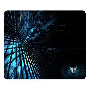 Argom Combat Mousepad Gaming Negro con Azul