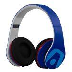 Argom Ultimate Sound DJ Pro Audífonos Alámbricos Azul