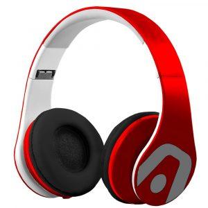 Argom Ultimate Sound DJ Pro Audífonos Alámbricos Rojo
