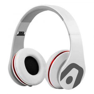 Argom Ultimate Sound DJ Pro Audífonos Alámbricos Blanco