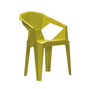Kalea Silla De Comedor Muze color Verde