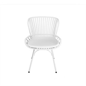 Kalea Silla De Comedor Vardon color Blanco