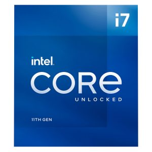 Intel Procesador Core i7-11700K Cache de 16MB hasta 5.00 GHz LGA1200