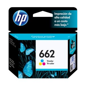 HP Cartucho 662 Tricolor Original