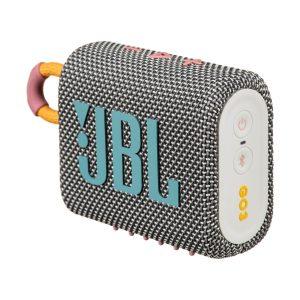 Bocina Bluetooth portátil JBL Go 3 gris