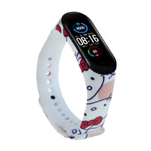 Pulsera para Mi Band 5  diseño Hello Kitty