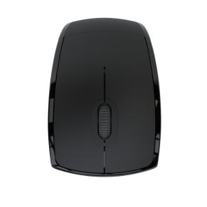 Klip Xtreme Mouse Inalámbrico Plegable de Tres Botones Negro