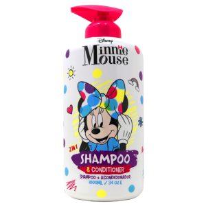 Disney Shampoo y Acondicionador 2 en 1 Minie 1000ml