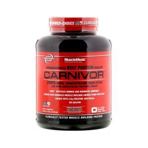 Musclemeds Carnivor Protein Isolate 4.2lb Vainilla Caramel